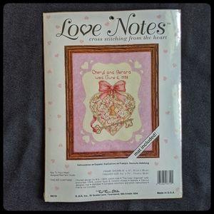 Love Notes Cross Stitch